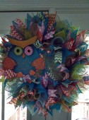 Blue Owl Wreath (2)
