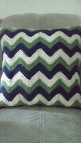 ng chevron pillow