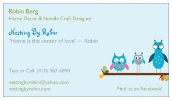 Nesting By Robin  Three Day Sale!!