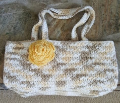 Star Stitch Purse Lined $45 Unlined $30 Large Rose Pin $5