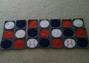 Batter Up Blanket