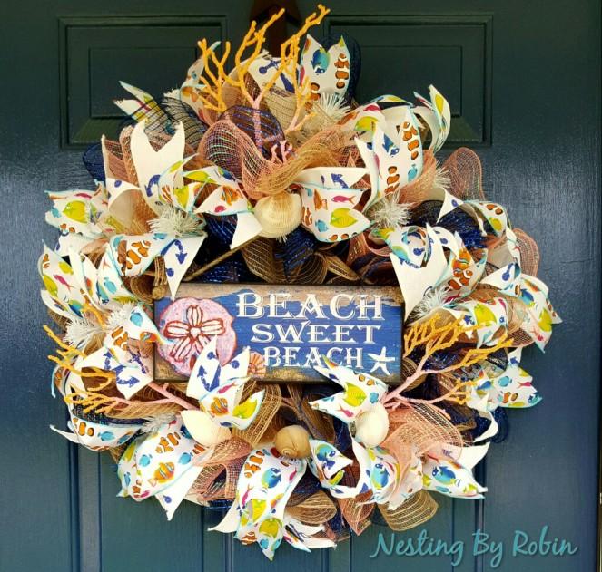 Sweet Beach Wreath