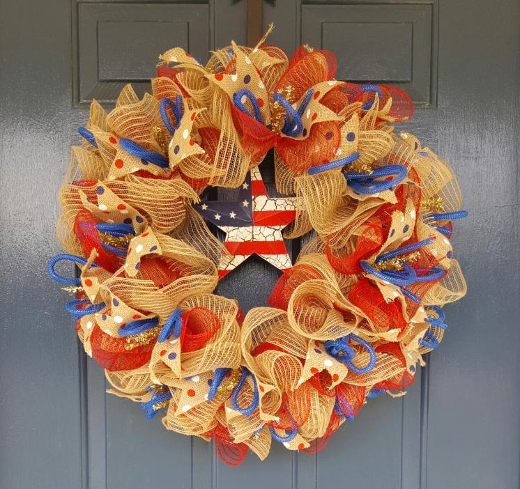 Patriot Wreath $55