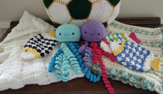 Baby and Kid Fun Fish Scrubbies $5 Everything else is posted in the shoppes.