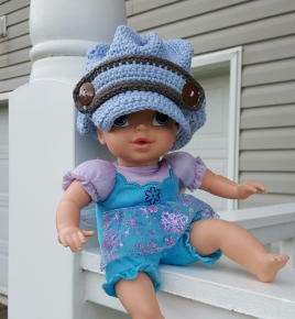 Newsboy Crochet Hat3