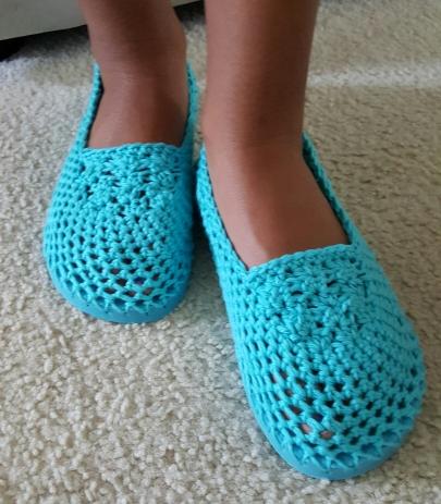 Crochet Flip Flop Slippers (S,M,L sizes) $10 per pair