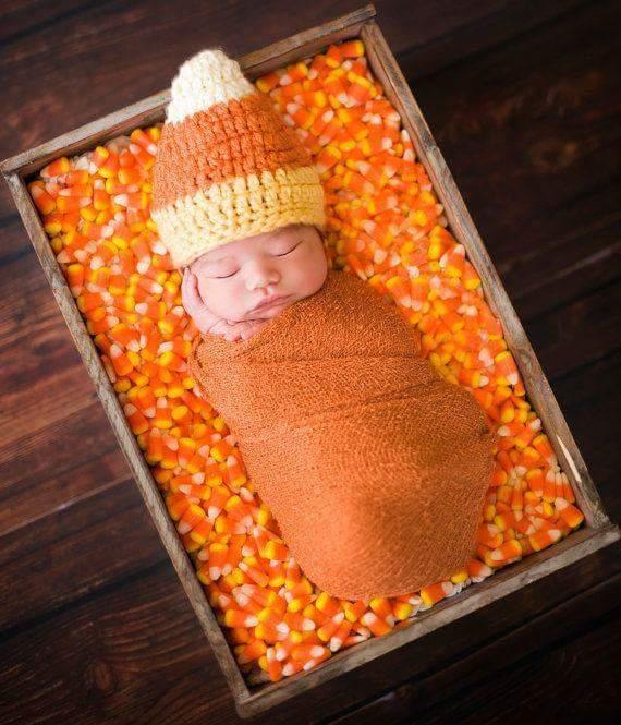 Candy Corn Photo Shoot