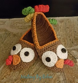 Thanksgiving Turkey Slippers Comes in teen/women sizes Price: $10 per pair